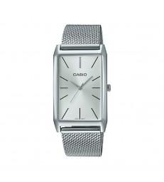 Reloj Casio sra rectangular milanesa-LTP-E156M-7AEF