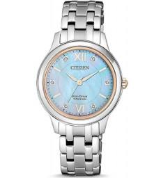 Reloj Citizen sra ecodrive titanium naca-EM0726-89Y