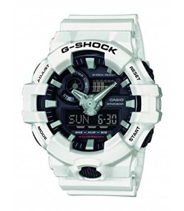 Reloj G-Shock anadigi blanco-GA-700-7AER