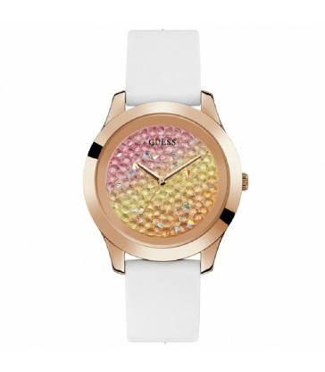Reloj Guess Crush sra rosa y blanco-W1223L3